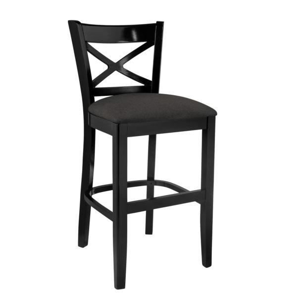 Enjoyable Cross Back Counter Stool Spiritservingveterans Wood Chair Design Ideas Spiritservingveteransorg